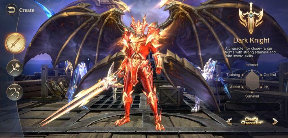 dark knight mu archangel
