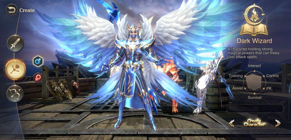 dark wizard mu archangel