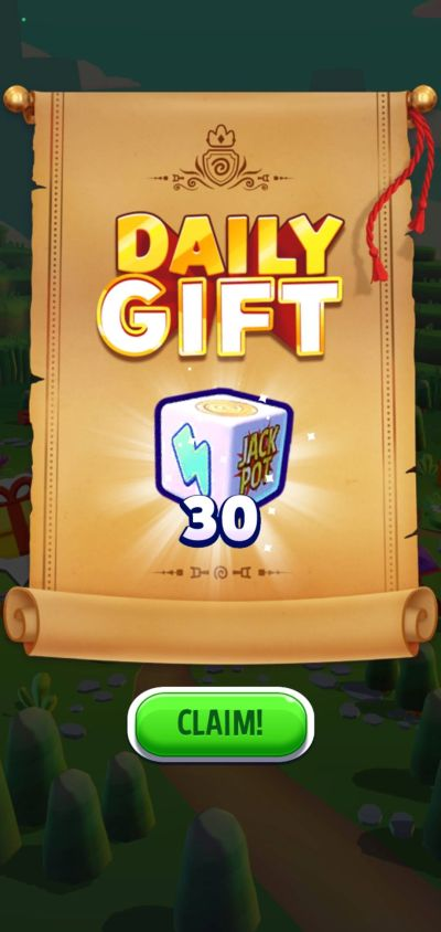 dice dreams daily gift