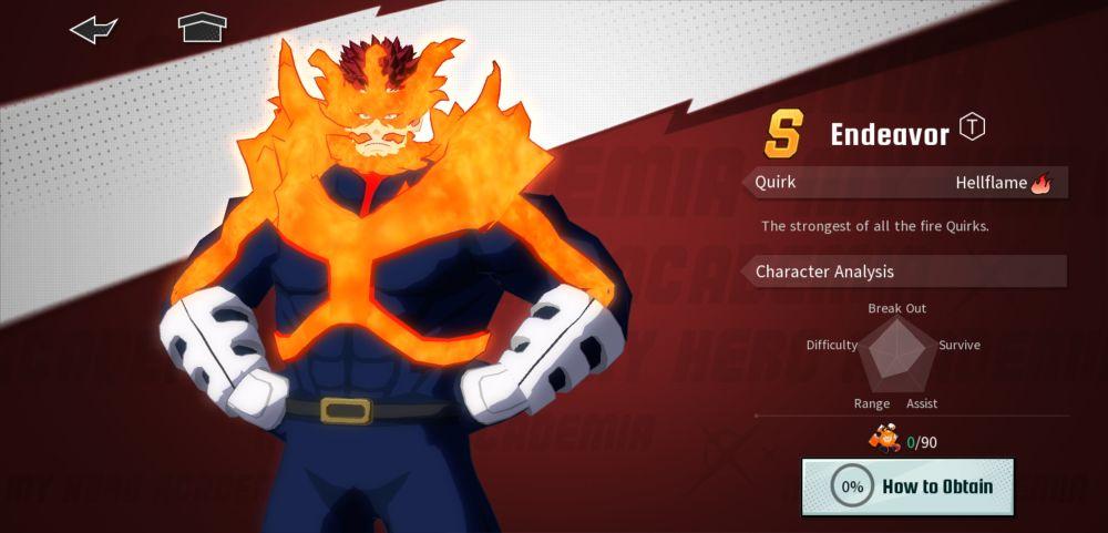 enji todoroki my hero academia the strongest hero