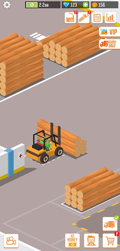 lumber inc forklift