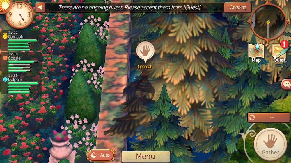hidden spot in atelier online alchemist of bressisle