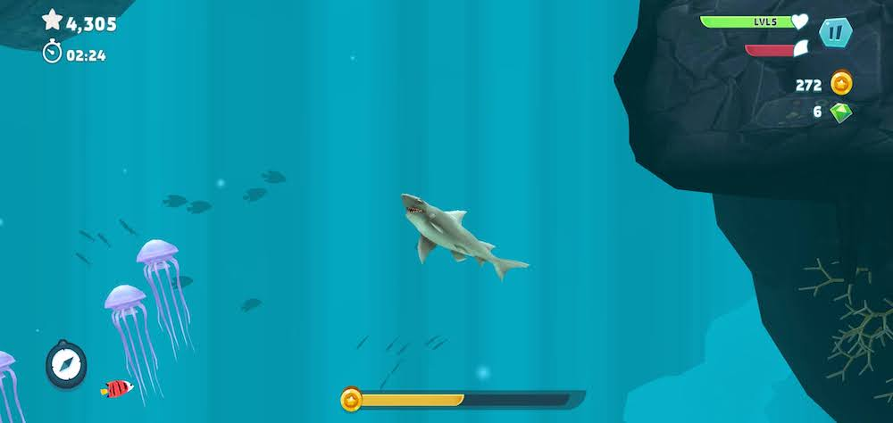 hungry shark evolution basics