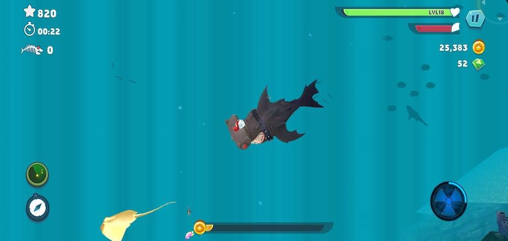 hungry shark evolution strategies