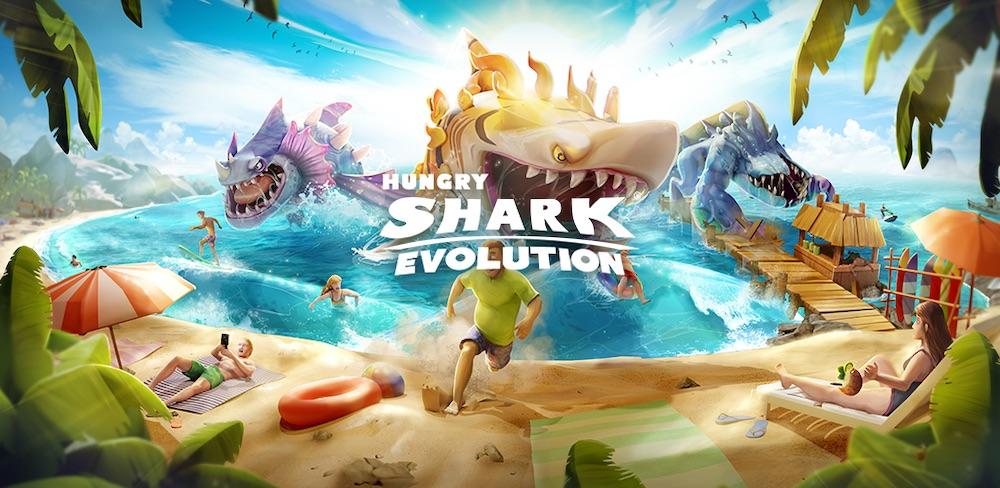 hungry shark evolution tips