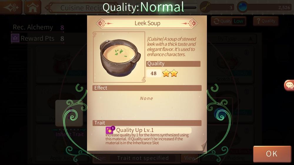 atelier online alchemist of bressisle leek soup