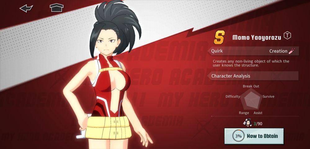 momo yaoyorozu my hero academia the strongest hero