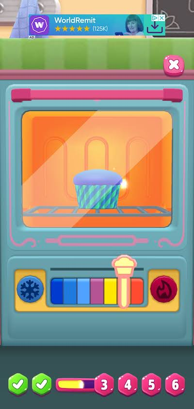 baking cupcakes in my talking angela 2