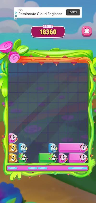 my talking angela 2 sliding pets mini-game