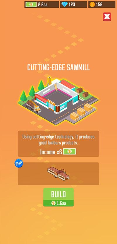 lumber inc new sawmill