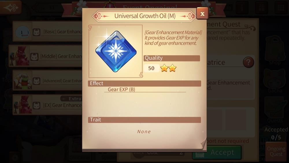atelier online alchemist of bressisle universal growth oil