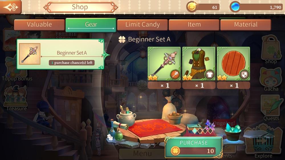 pointless purchase in atelier online alchemist of bressisle