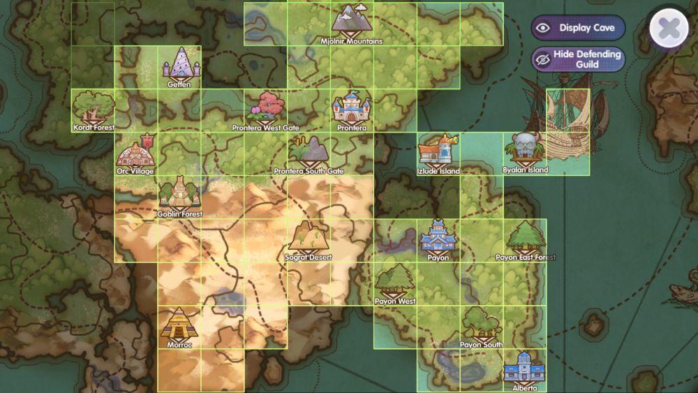 ragnarok x next generation map