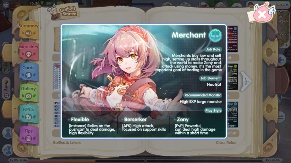 merchant ragnarok x next generation
