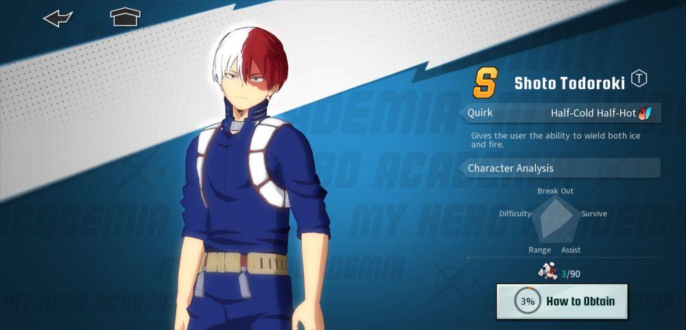 shoto todoroki my hero academia the strongest hero