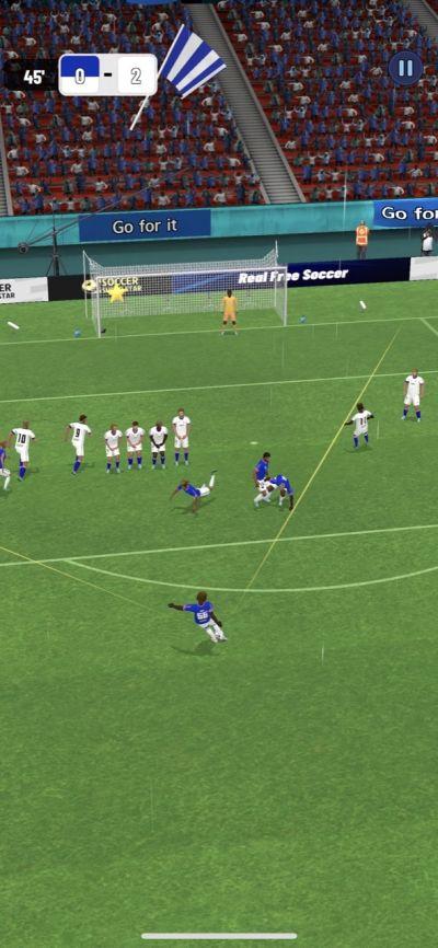 soccer super star free kick