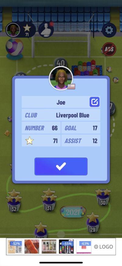 soccer super star stats
