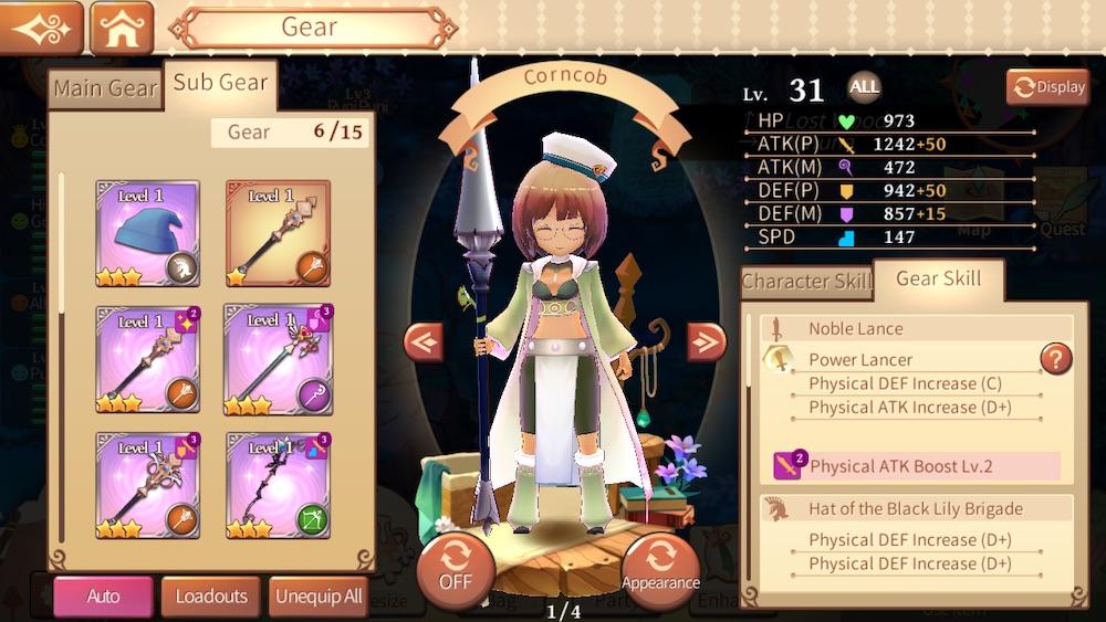 atelier online alchemist of bressisle sub gear