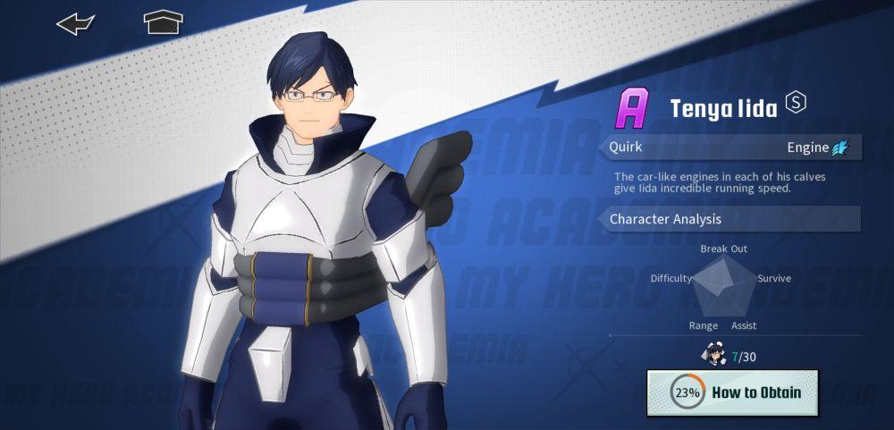 tenya lida my hero academia the strongest hero
