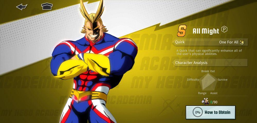 toshinori yagi my hero academia the strongest hero