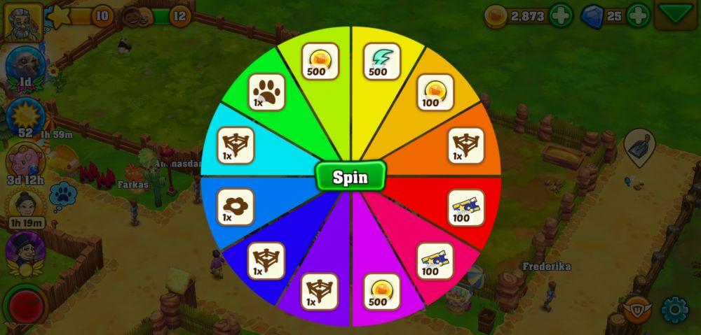 zoo 2 animal park prize wheel
