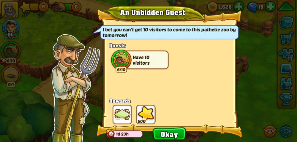 zoo 2 animal park quests