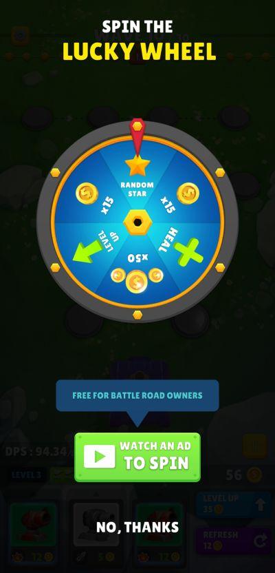 auto defense lucky wheel