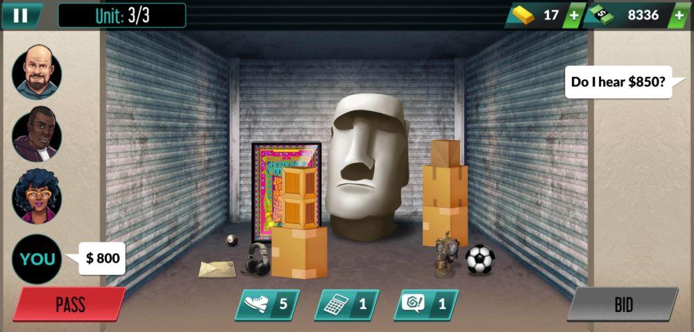 bid wars pawn empire moai