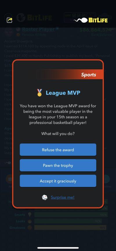 league mvp in bitlife