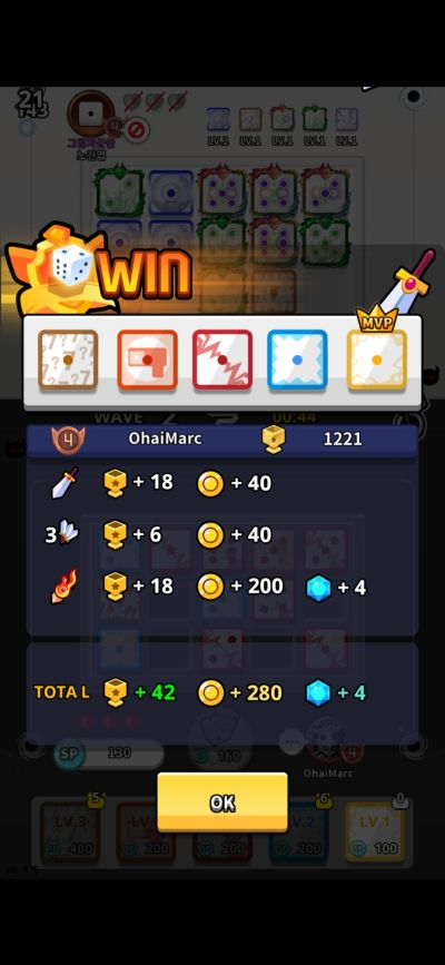 burning victory random dice