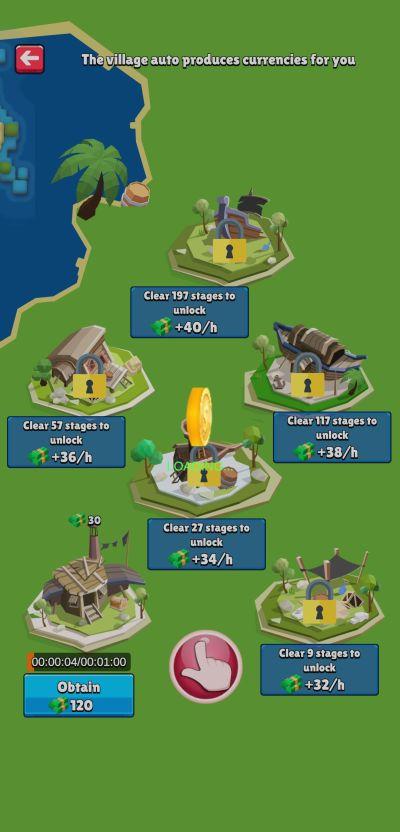 unlocking villages in caribbean odyssey