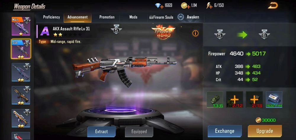 contra returns akx assault rifle