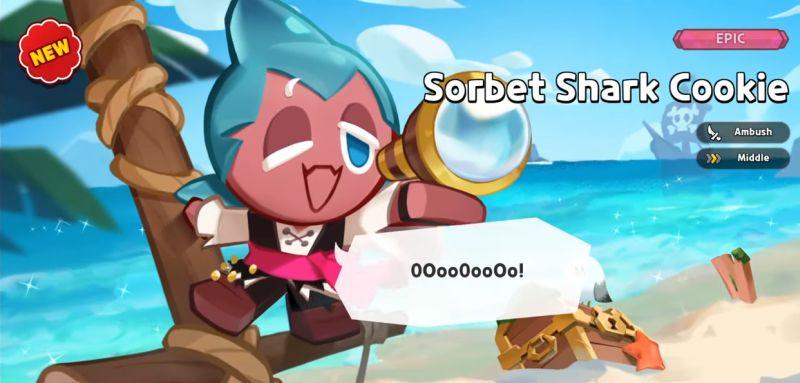 sorbert shark cookie cookie run kingdom