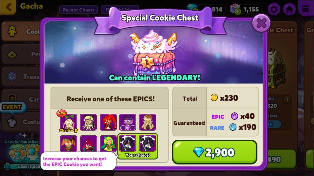 cookie run ovenbreak special cookie chest