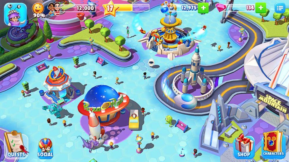 disney magic kingdoms gameplay
