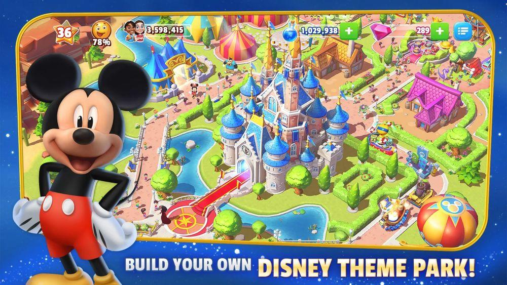 disney magic kingdoms theme park