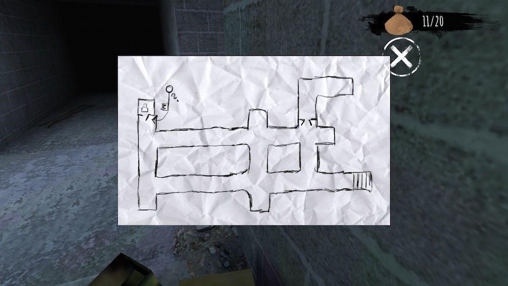 eyes the horror game b1 map