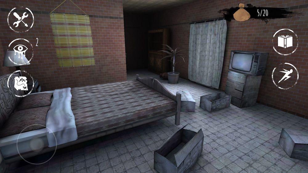 eyes the horror game bedroom