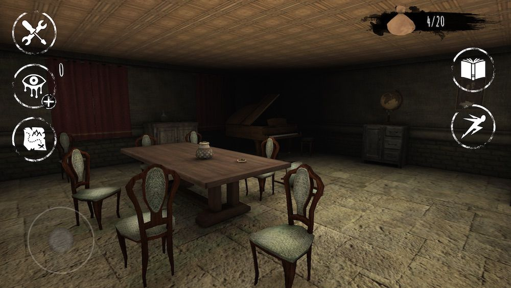 eyes the horror game dining room