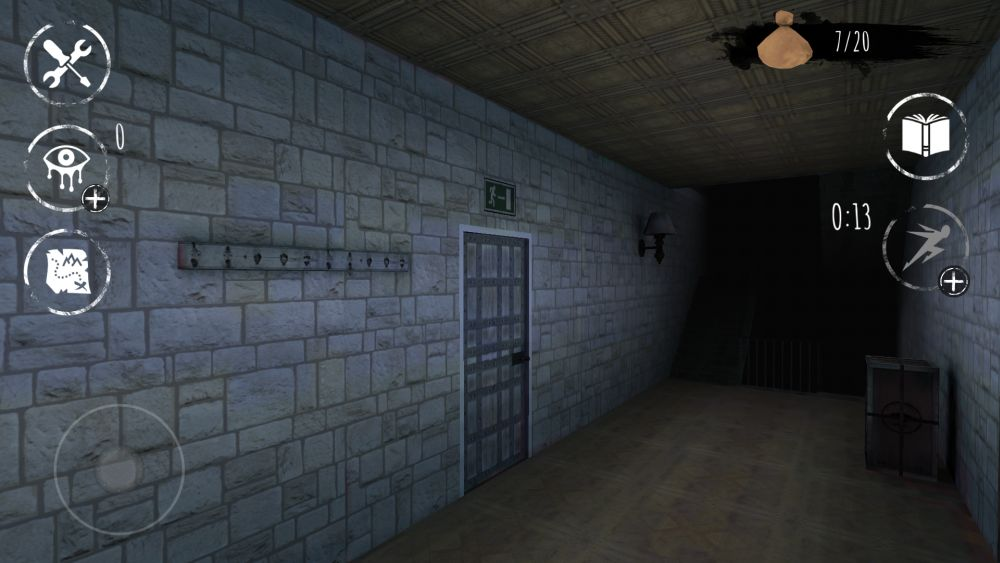eyes the horror game exit