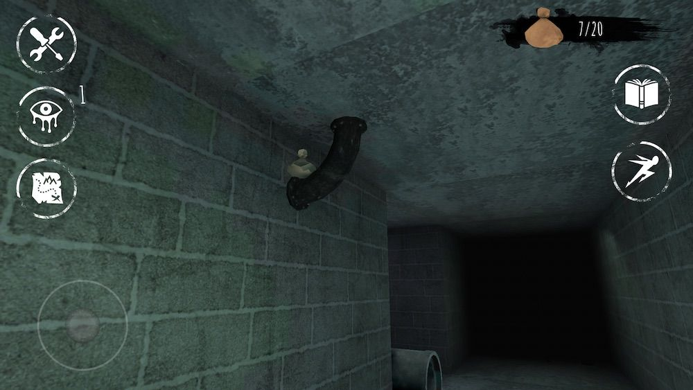 eyes the horror game top pipe