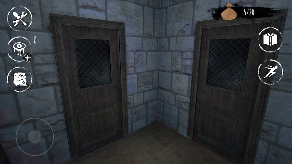eyes the horror game two doors