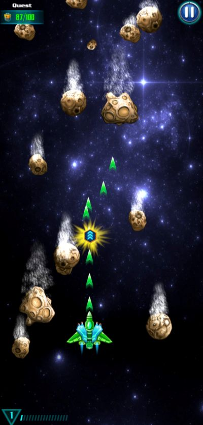 galaxy attack alien shooter asteroids