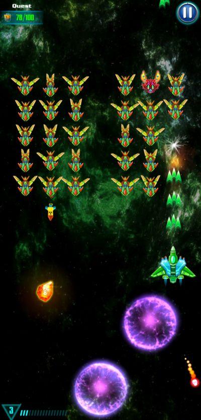 galaxy attack alien shooter temptation