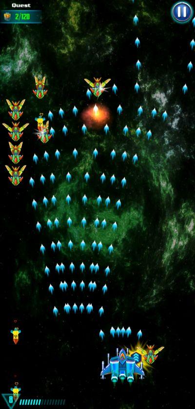 galaxy attack alien shooter wisdom glory