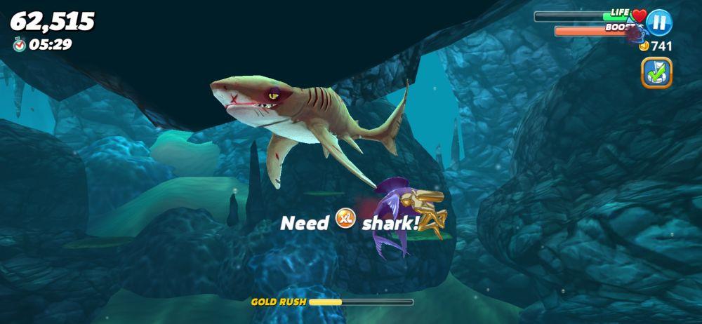 hungry shark world tips