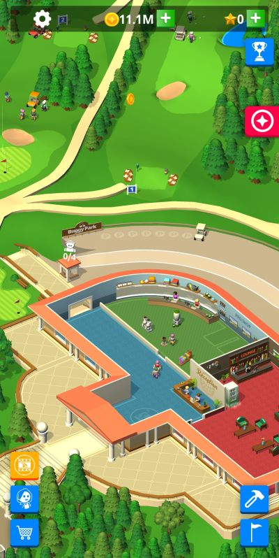 idle golf club manager tycoon profits