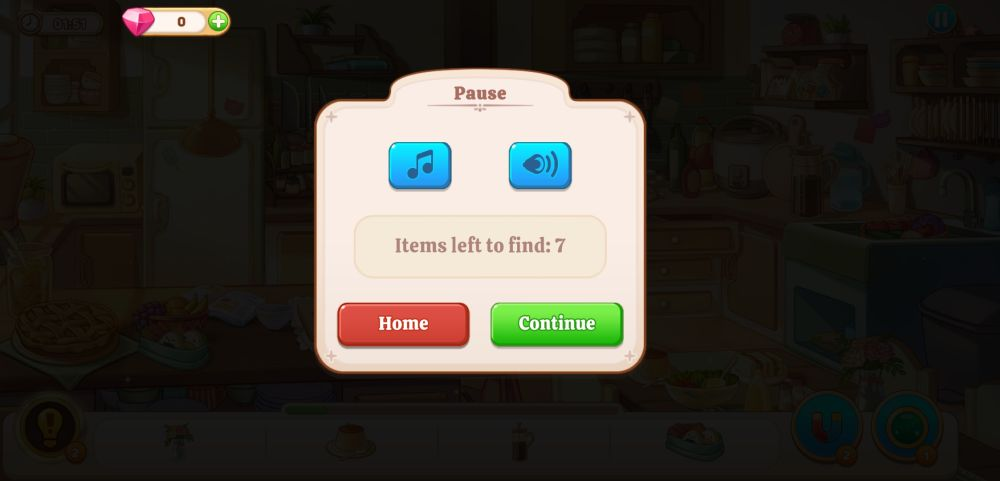 using the pause button in kawaii mansion
