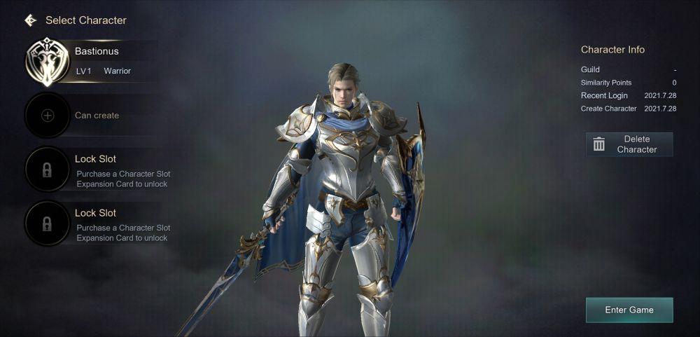 kingdom the blood pledge warrior class