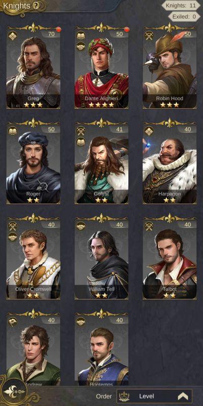 king's choice knights